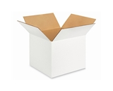 12- x 12- x 10- White Corrugated Boxes (Bundle of 25)
