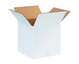 12- x 12- x 12- White Corrugated Boxes (Bundle of 25)