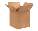 12 3/4- x 12 3/4- x 13 1/2- Corrugated Boxes (Bundle of 25)