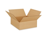 12- x 12- x 4- Flat Corrugated Boxes (Bundle of 25)