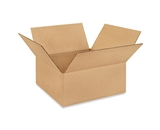12- x 12- x 5- Flat Corrugated Boxes (Bundle of 25)