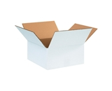 12- x 12- x 6- White Corrugated Boxes (Bundle of 25)