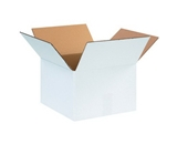 12- x 12- x 8- White Corrugated Boxes (Bundle of 25)