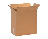 12 3/4- x 6 3/8- x 13 1/2- Corrugated Boxes (Bundle of 25)