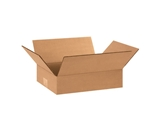 12- x 8- x 3- Flat Corrugated Boxes (Bundle of 25)