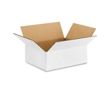 12- x 9- x 4- White Corrugated Boxes (Bundle of 25)