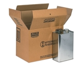 13 3/4- x 9- x 10 3/8- 4 - 1 Gallon F-Style Boxes (20 Each Per Bundle)