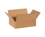 14- x 10- x 4- Flat Corrugated Boxes (Bundle of 25)