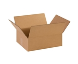 14- x 11- x 4 1/2- Flat Corrugated Boxes (Bundle of 25)