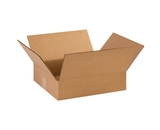 14 3/8- x 12 1/2- x 3 1/2- Corrugated Boxes (Bundle of 25)