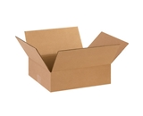 14- x 12- x 4- Flat Corrugated Boxes (Bundle of 25)