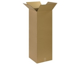 14- x 14- x 40- Tall Corrugated Boxes (Bundle of 15)