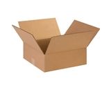 14- x 14- x 5- Flat Corrugated Boxes (Bundle of 25)