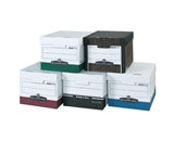 15- x 12- x 10- Wood Grain R-Kive® File Storage Boxes (12 Each Per Case)
