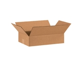 15- x 10- x 4- Flat Corrugated Boxes (Bundle of 25)