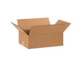 15- x 10- x 5- Flat Corrugated Boxes (Bundle of 25)