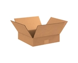 15- x 15- x 3- Flat Corrugated Boxes (Bundle of 25)
