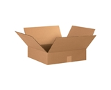15- x 15- x 4- Flat Corrugated Boxes (Bundle of 25)