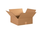 15- x 15- x 6- Flat Corrugated Boxes (Bundle of 25)