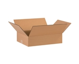 16- x 12- x 4- Flat Corrugated Boxes (Bundle of 25)