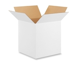 16- x 16- x 16- White Corrugated Boxes (Bundle of 25)