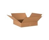 17- x 17- x 4- Flat Corrugated Boxes (Bundle of 25)