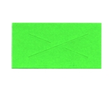 Garvey 2 Line GX3719 Fluorescent Green Labels for 37-6, 37-7 and 37-1212 Labelers
