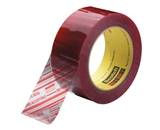 2- x 110 yds. Clear (6 Pack) 3M - 3779 Pre-Printed Carton Sealing Tape (6 Per Case)