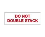 2- x 110 yds. - -Do Not Double Stack...- (6 Pack) Tape Logic™ Pre-Printed Carton Sealing Tape (6 Per Case)