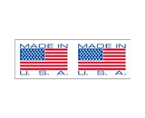 2- x 110 yds. - -Made In USA- (6 Pack) Pre-Printed Carton Sealing Tape (6 Per Case)