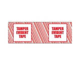 2- x 110 yds. -Tamper Evident- Print (6 Pack) Tape Logic™ Security Tape (6 Per Case)