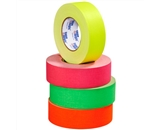 2- x 50 yds. Fluorescent Yellow 11 Mil Gaffers Tape (24 Per Case)