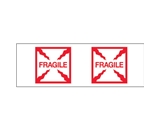 2- x 55 yds. - -Fragile (Box)- (18 Pack) Tape Logic™ Pre-Printed Carton Sealing Tape (18 Per Case)