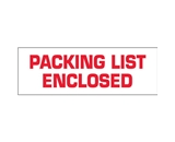 2- x 55 yds. - -Packing List Enclosed- (6 Pack) Tape Logic™ Pre-Printed Carton Sealing Tape (6 Per Case)