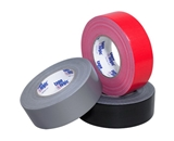 2- x 60 yds. Black (3 Pack) 10 Mil Cloth Duct Tape (3 Per Case)