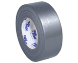 2- x 60 yds. Silver (3 Pack) 8.0 Mil Cloth Duct Tape (3 Per Case)