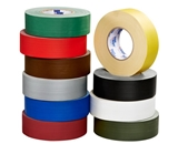 2- x 60 yds White 11 Mil Gaffers Tape (24 Per Case)