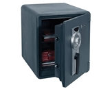 First Alert 2087F Waterproof 1 Hour Fire Safe with Combination Lock, 0.94 Cubic Foot