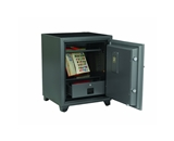 First Alert 2190F 2 Hour Steel Fire Safe with Combination Lock, 2.02 Cubic Foot