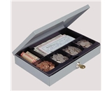 MMF Low Profile Cash Box w/ Security Lock