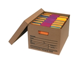 24- x 12- x 10- Economy File Storage Boxes (12 Each Per Case)