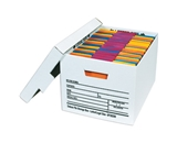 24- x 15- x 10- Deluxe File Storage Boxes (12 Each Per Case)