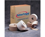 3- x 375- White Intertape - Carton Master Reinforced Tape (8 Per Case)