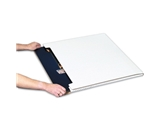 36- x 24- x 1/4- White Jumbo Fold-Over Mailers (20 Each Per Bundle)