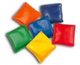 4- Assorted Colors Bean Bags, pack of 12