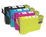 4 Pack Compatible Ink Cartirdge EPSON T1251-T1254 for NX125 Workforce E320 323