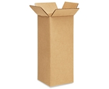 4- x 4- x 10- Tall Corrugated Boxes (Bundle of 25)