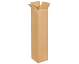 4- x 4- x 18- Tall Corrugated Boxes (Bundle of 25)