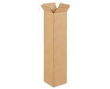 4- x 4- x 20- Tall Corrugated Boxes (Bundle of 25)