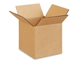 4- x 4- x 4- Corrugated Boxes (Bundle of 25)